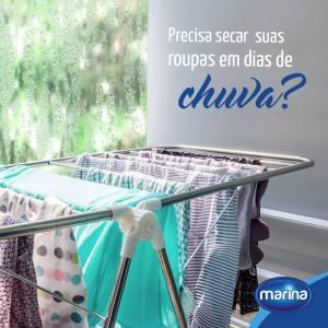 Precisa secar suas roupas em dias de chuva?