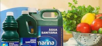 água sanitária 2l