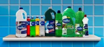 Sanitizantes produtos de limpeza